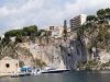 Monaco has many sheer cliffs