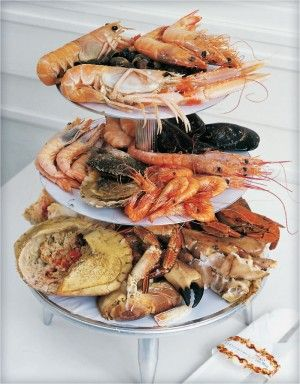 A much more presentable seafood