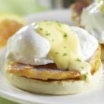 Eggs Benedict with Hollandaise sauce!