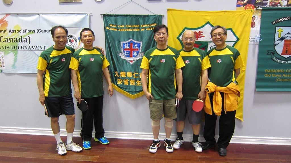 Captain Mike Yam(74), Michael Luk(76), Allan Lee(70, David Ho(70), Manager Wilfred Wei (69)