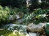 Waterfall in small park, Monaco