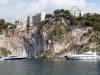 Monaco has many sheer cliffs