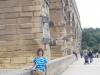 Lana on the Pont du Gard (Roman Aqueduct), outside Nîmes